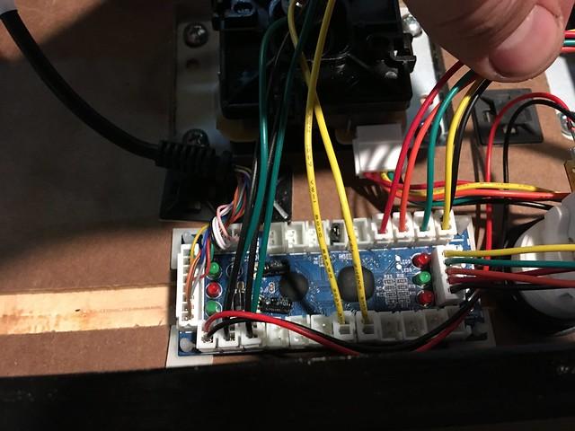 arcade joystick board
